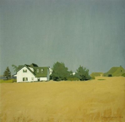 cavetocanvas:  Fairfield Porter, Wheat, 1960