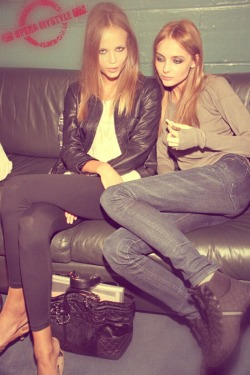 The skinny models Natasha poly & Snejana onopka