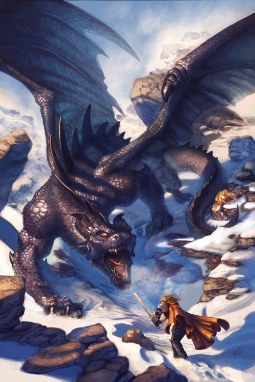 (via The Black Dragon v2 by ~Wes-Talbott on deviantART)