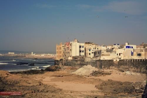 Essaouira faces the Atlantic