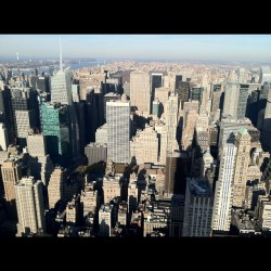 Uptown NYC (Taken with Instagram at 86th Floor Observation Deck)