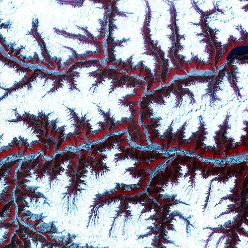 loveyourchaos:  Himalayas (by NASA Goddard Photo and Video)