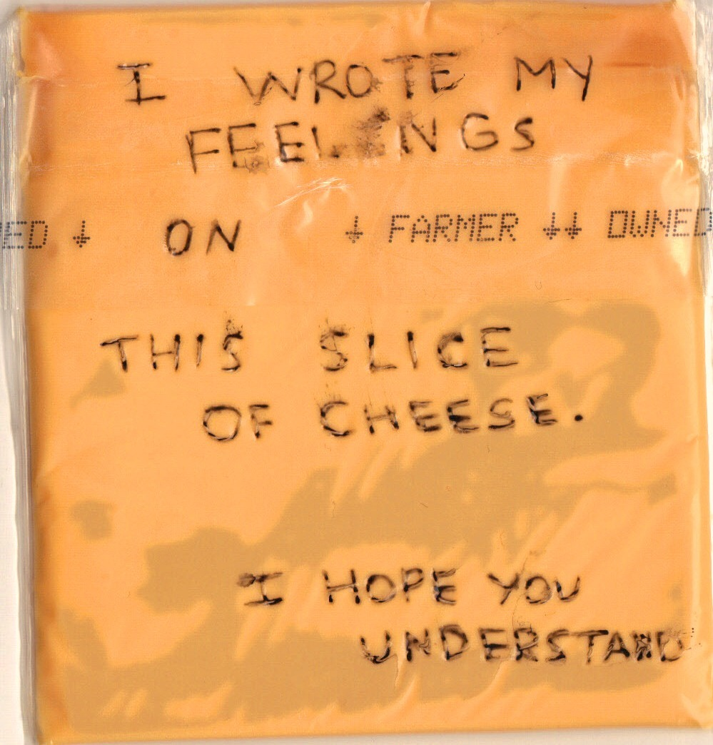 loveyourchaos:  All of my emotions are cheese based.