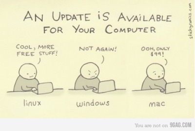 9gag:  An update is available