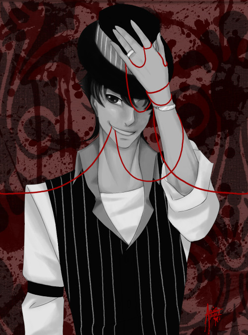For the Bloody Valentine event! Is my OC Redswift! WHOSE CLOTHES IS HE WEARI—shot-