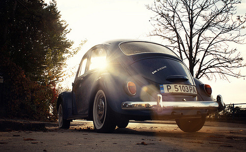 carpr0n:  Chasing the sun Starring: Volkswagen Beetle (by imagefactory-studio)