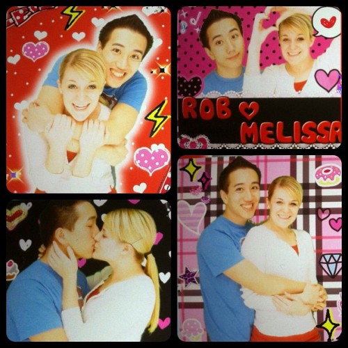 Photo booth fun! ❤ #love (Taken with instagram)