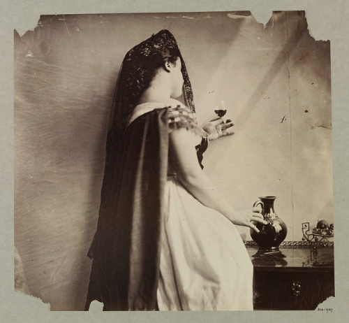 Lady Hawarden Clementina (photographer) Albumen print via