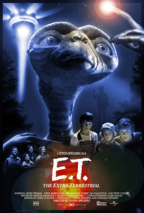 E.T. the Extra-Terrestrial by Hopko Designs
