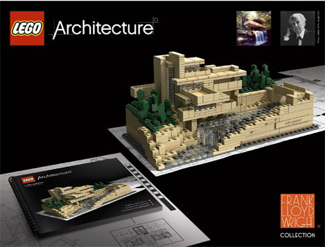 Fallingwater Lego set! How did I miss this?