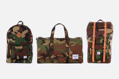 hakmiller:  Herschel Supply Co. CORDURA Camo Collection.