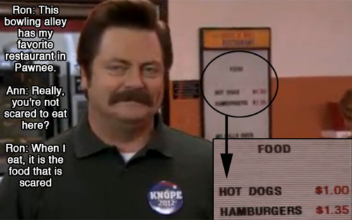 Steak Quotes Quotesgram: Ron Swanson + Meat = Awesome
