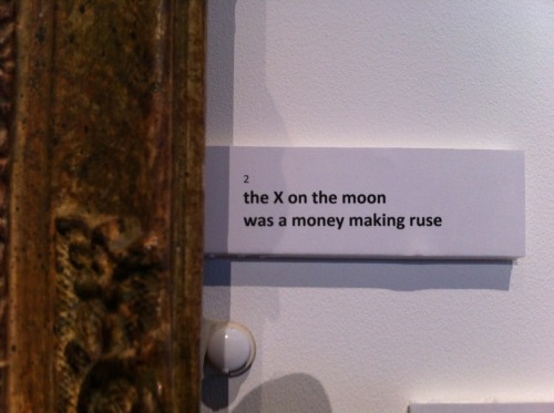 the X on the moonwas a money making ruse
