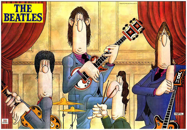 The Beatles' by Don Martin.