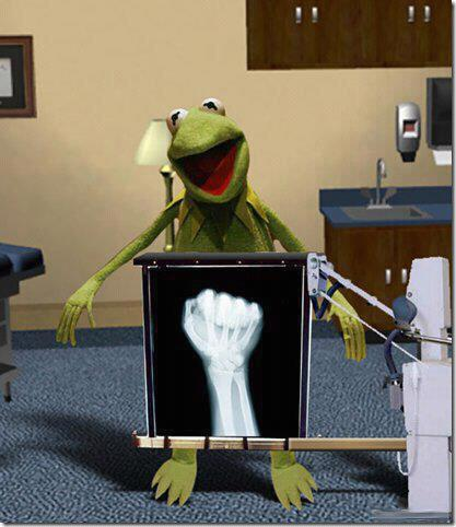Sweet Jesus… looks like kermits getting fisted