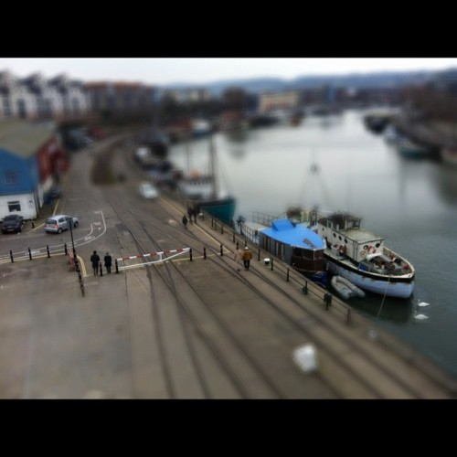 Day out with my little girl #mshed #tiltshift #bristol #igersbristol #photoaday #febphotoaday  (Taken with Instagram at M Shed)