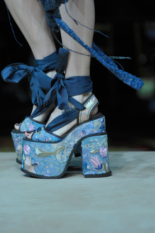 turple:   Vivienne Westwood Spring 2012 at Paris Fashion Week