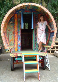 Colorful Gypsy Caravan