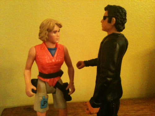 jeffgoldblumdoesstuff:  Jeff Goldblum tells Laura she's pretty. Dern pretty.  This website changes everything. Everything.