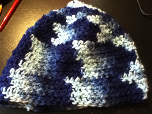 My nana found this hat I made years ago :)