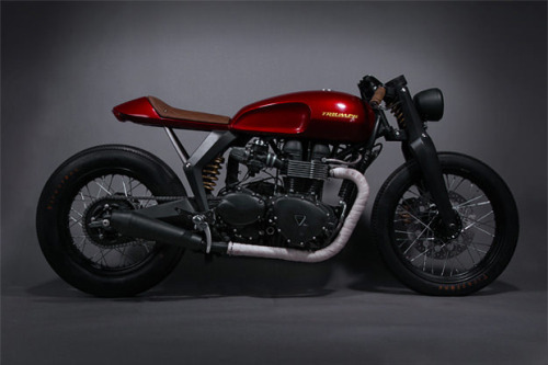 Triumph x Barbour Speed Twin Concept |  I kind of want a motorcycle.