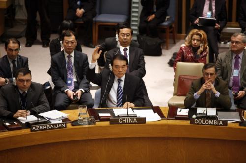 reuters:Russia, China veto U.N. resolution telling Assad to quitRussia and China vetoed on Saturday an Arab- and Western-backed resolution at the U.N. Security Council calling for Syrian President Bashar al-Assad to step down over his bloody crackdown on a popular uprising.The setback in diplomatic efforts to defuse the revolt peacefully came after world leaders and Syrian opposition activists accused Assad's forces of killing hundreds of people in a bombardment of the city of Homs, the bloodiest night in 11 months of upheaval in the pivotal Arab country.Defending the indefensible. It's no surprise, but it's still wince-worthy.