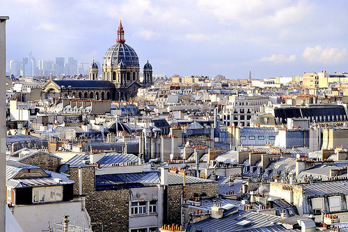Paris Roofs (Saint-Augustin and La Defense)
