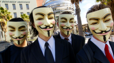 Anonymous leaked the spoils of one of their more impressive hacks to date: Audio of a conference call between the FBI and the Scotland Yard.