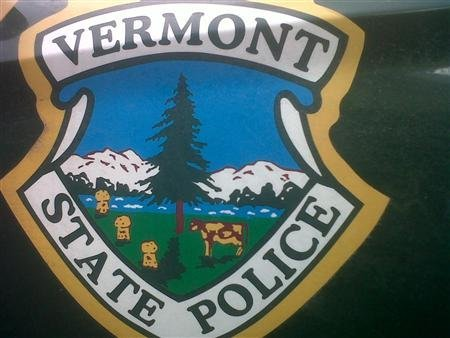 anticapitalist:  Vermont inmates hide pig in official police car decal  Inmates working at a Vermont correctional unit's print shop managed to sneak a prank image of a pig into a state police crest that is emblazoned on police cars, and 30 cruisers sported the design for the last year, officials said on Thursday. The official crest depicts a spotted cow against a background of snowy mountains, but the inmates' version featured one of the cow's spots shaped like a pig in an apparent reference to the pejorative word for police, state police spokeswoman Stephanie Dasaro said.  Brilliant. Thats what you get for letting inmates put shit on your patrol cars