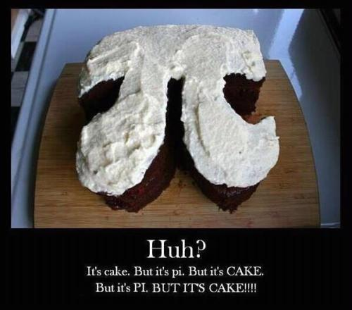 It's like having your cake and eating PI too!