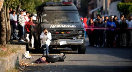 "fuckyeahdrugpolicy:  Mexico Updates Death Toll in Drug War to 47,515, but Critics Dispute the Data | NYT  January 11, 2012—The Mexican government updated its drug war death toll on Wednesday, reporting that 47,515 people had been killed in drug-related violence since President Felipe Calderón began a military assault on criminal cartels in late 2006. […] The number of drug-related deaths is the subject of much dispute. Government officials last gave a figure — 34,612 — at the end of 2010, promising to update their tally regularly. They did not follow through. A group of Mexican and American academics, including  [Eric Olson, a security expert at the Woodrow Wilson International Center for Scholars in Washington] began pleading with the Calderón administration for death figures, along with other data known to be collected, including violent episodes involving the military. But members of the group say they were ignored. […] ""Since there are very few actual investigations, those are approximations at best,"" Mr. Olson said. ""They're hunches. There is not really a way of knowing precisely if it was caused by organized crime or a drug trafficker or not."" Molly Molloy, a librarian at New Mexico State University who closely tracks deaths in Ciudad Juárez and other parts of the country, said that given the investigative failures, the most reliable figures come from the Mexican census agency, which identified 67,050 homicides from 2007 through 2010, nearly double the government's count of drug-related deaths for that period. +"