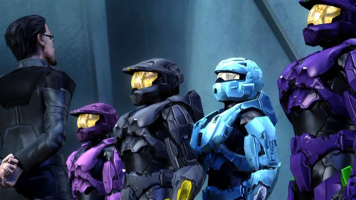 I love the detail that goes into Red vs Blue. Specific heights &the way the character moves..