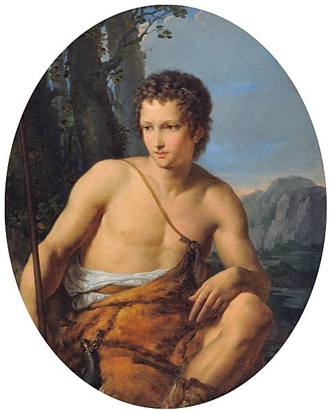 Jean-Louis Ducis, A Young Shepherd of Arcadia, 1831