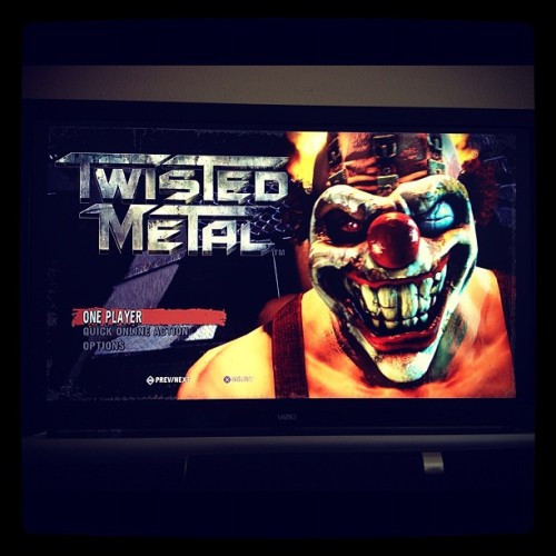 Twisted Metal demo time…and yes, I'm the type of girl that plays video games! :-) (Taken with Instagram at Lake Pointe)