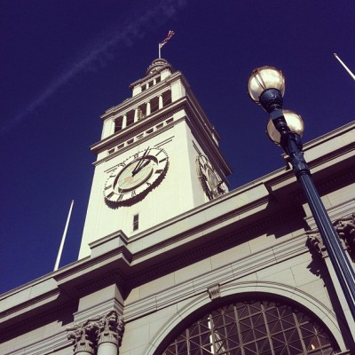 Ferry Building - San Francisco (Taken with instagram)