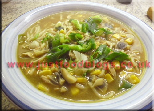 Recipe - Chicken Soup… I made this on Saturday Full recipe over athttp://www.bbcgoodfood.com/recipes/1869/chicken-noodle-soup   Click on the picture for a larger version