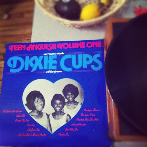 So excited about this find from the record fair today: #nowplaying The Dixie Cups #fb  (Taken with instagram)