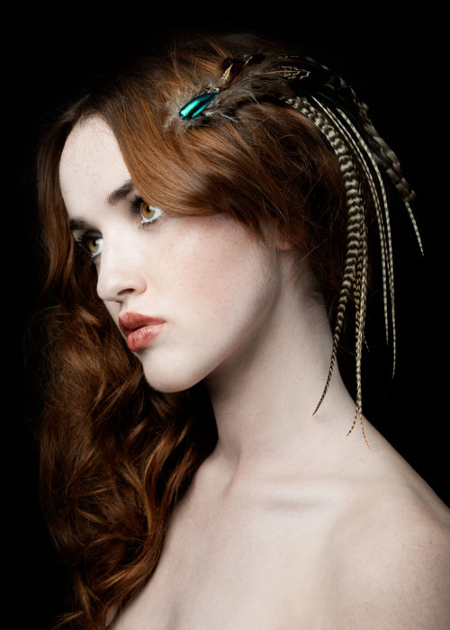 PRE-RAPHAELITE One of my favourite shots from Zara Carpenter's last collection.