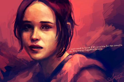 alicexz:  A rough painting study from reference. And yes, I think so!