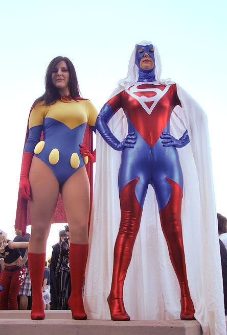 demonsee:  Superwoman (Lois Lane, All Star Superman) and Superwoman (Lucy Lane)