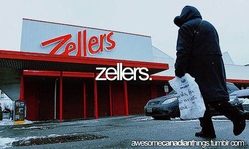 There will be no more Zellers soon caused by big AMERICAN companies once again. This makes me upset. My grandfather used to be an executive of Zellers and my aunts would sometimes appear in their catalogues.