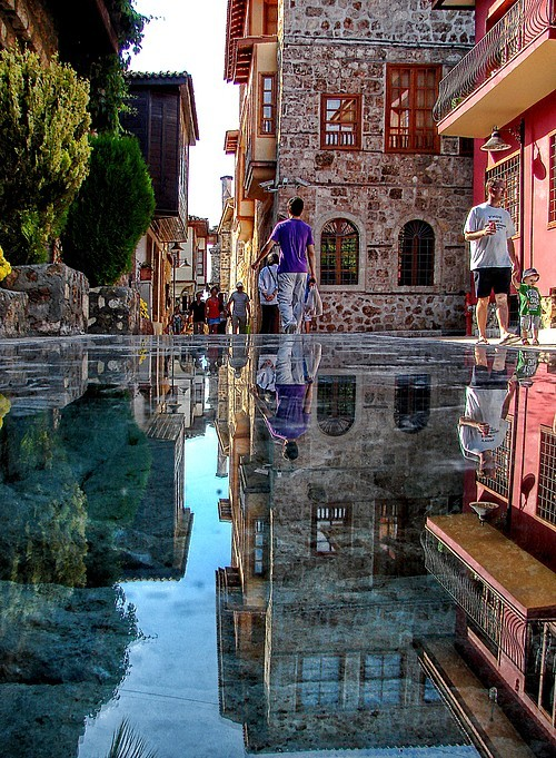 bluepueblo:  The Stone Mirror, Istanbul, Turkey photo via cmrn  I love Istanbul!!! Can't wait to go back :)