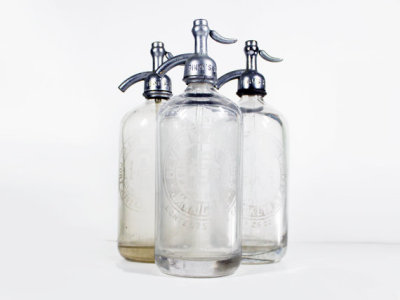 Vintage Seltzer Bottle by BrooklynRetro