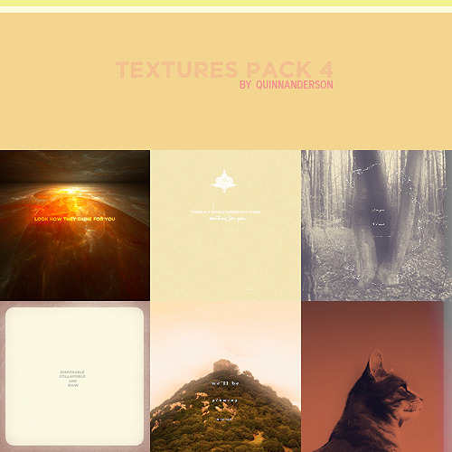 Textures pack #4.  It's been a while since i posted some textures so here you go, this pack contains 10 mixed textures, enjoy!Please like this post if you downloadMF DA