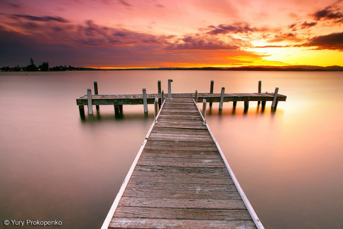 Sunset @ Lake Macquarie by -yury- on Flickr.