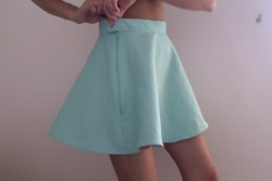 unabused:  love this color love this skirt omfg