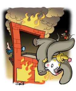 silvaniart:  Behind the Scenes- Dumbo (1941)  Behind the Scenes: a new fun thing by my partner in pizza James Silvani, starting a certain abomination. Gonna be epic, folks, trust me on this…