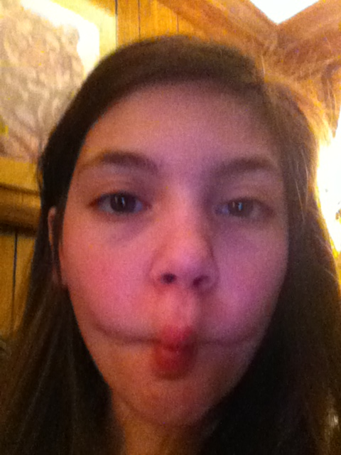 Fishy face