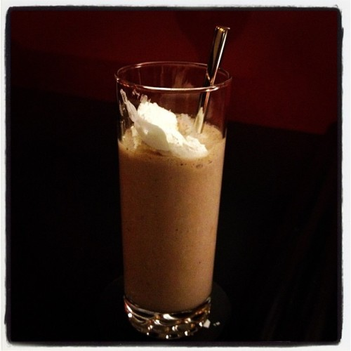thin mint milkshake. happy saturday (Taken with instagram)