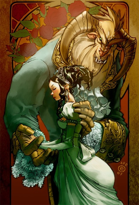 forestoffairytales:  Beauty and the Beast
